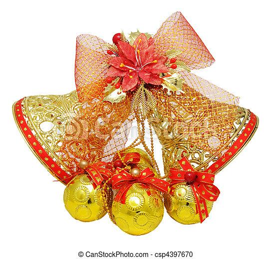 Jingle bells - csp4397670