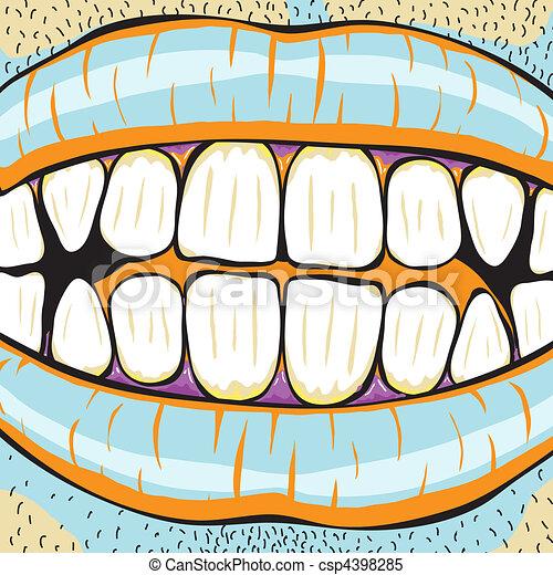 Mouth - csp4398285