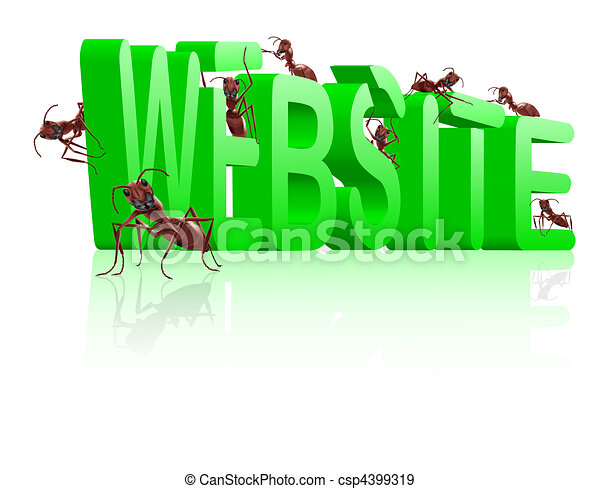 website under construction www development - csp4399319