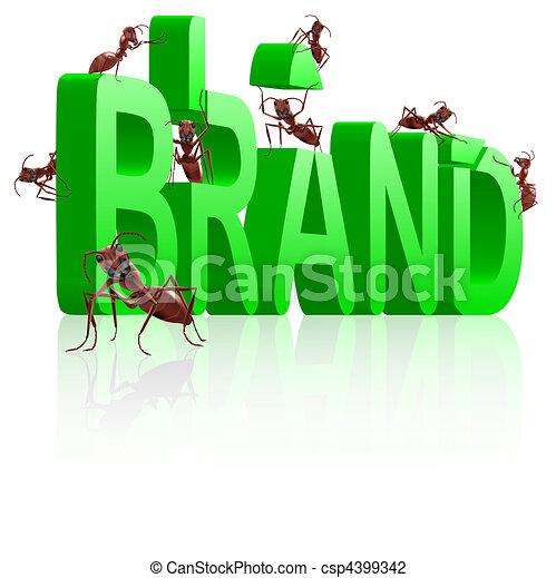 ant building brand - csp4399342