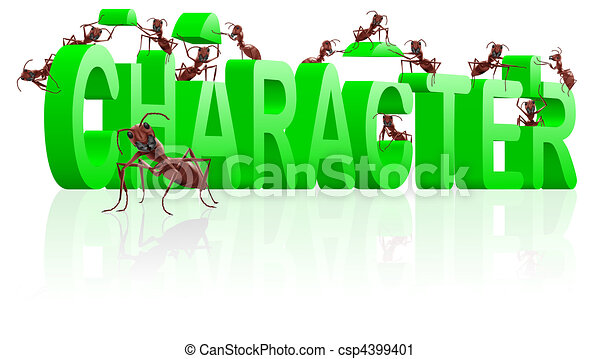 character building therapy to individuality - csp4399401