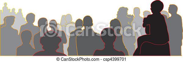 audience - csp4399701