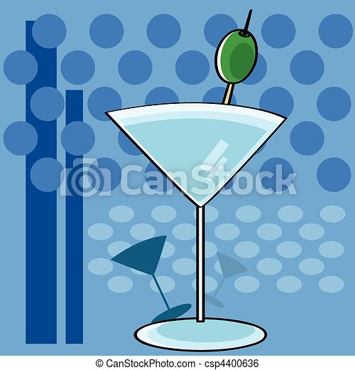 Vintage cocktail - csp4400636