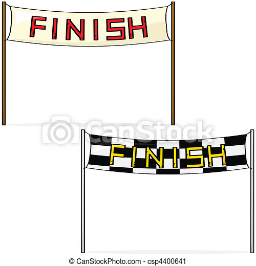 Finish line - csp4400641