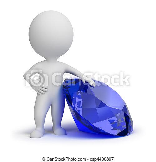 3d small people - jewel - csp4400897