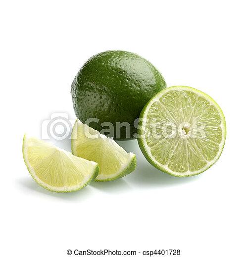 Lemon with half lemon - csp4401728