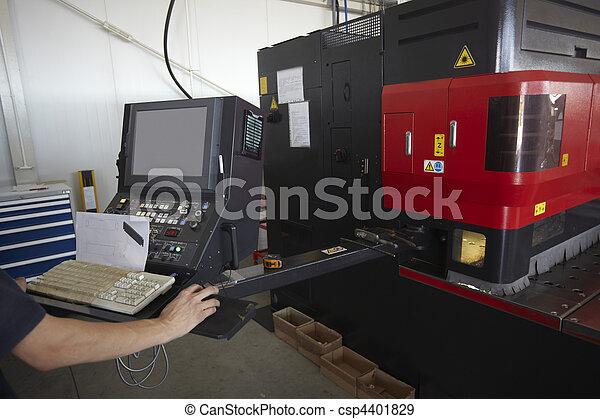 laser cutting aluminum factory industry manufacturing - csp4401829