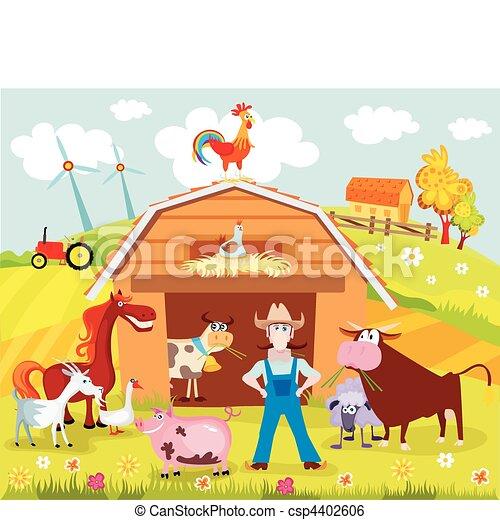 farm - csp4402606