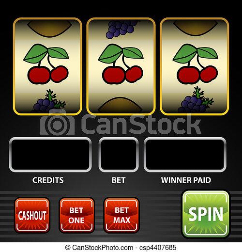 Slot Machine - csp4407685