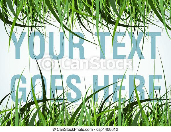 grass frame - csp4408012