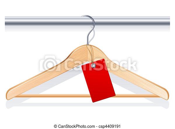 Clothing hanger - csp4409191