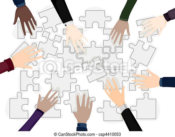Business Team Problem Solving - csp4410053