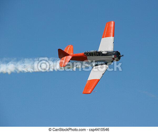Aerobatic Demonstration - csp4410546