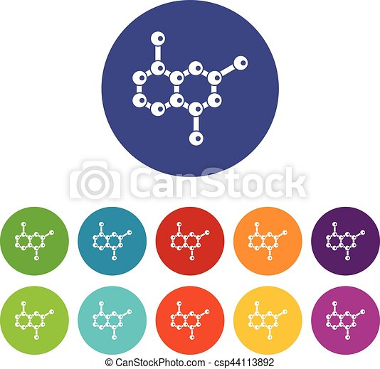 Molecule set icons - csp44113892