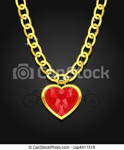 heart diamond jewel - csp4411518