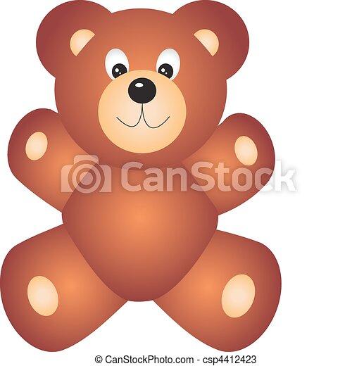 Bear vector  - csp4412423