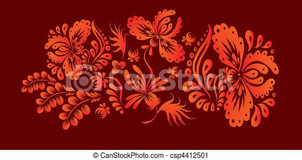 Vegetation pattern. - csp4412501