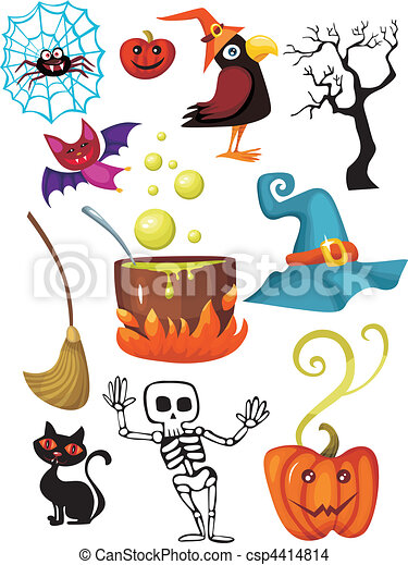 halloween set - csp4414814