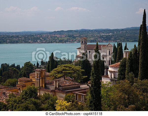 Gardone on Lake Garda - csp4415118