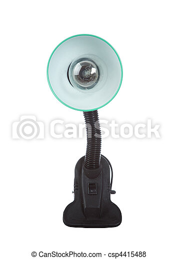 The green lamp - csp4415488