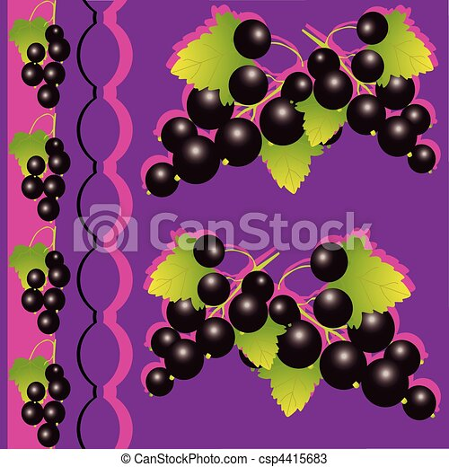 Black currant. - csp4415683