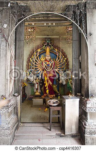 Avalokite?vara Thousand Arms Hindu Goddess - csp4416307