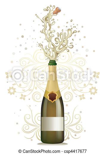 champagne - csp4417677