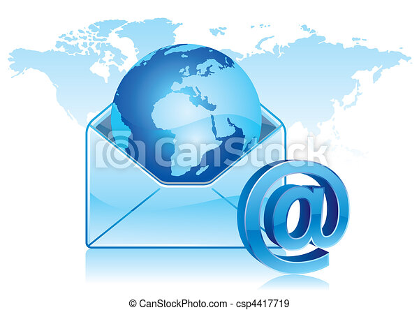 email communication - csp4417719