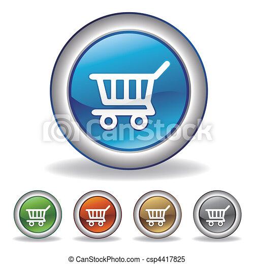 vector e-commerce icon - csp4417825