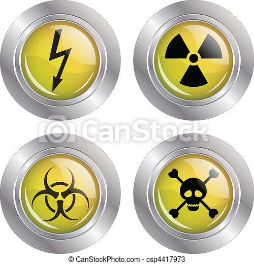 Various warning signs - csp4417973