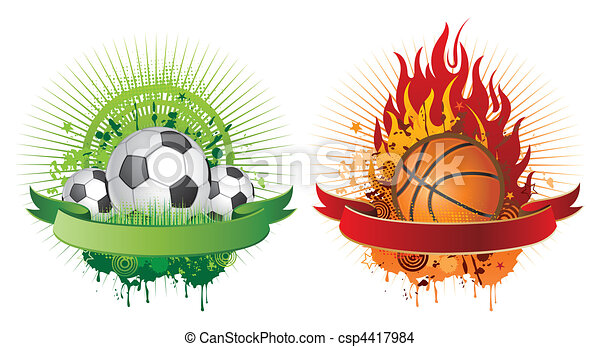 sports design elements - csp4417984