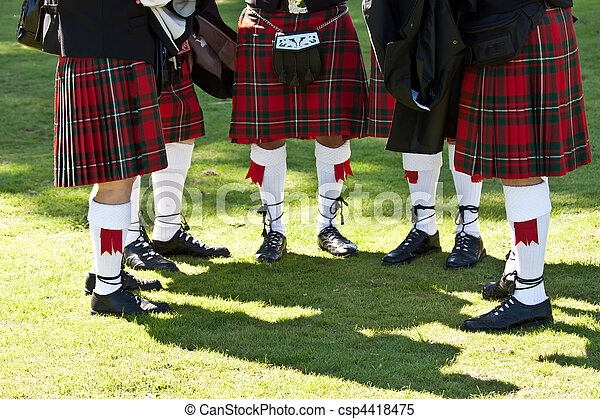 Scottish kilts - csp4418475