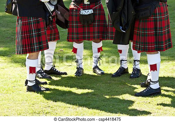 Scottish kilts - csp4418475