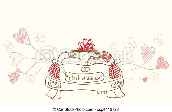 just married - csp4418723