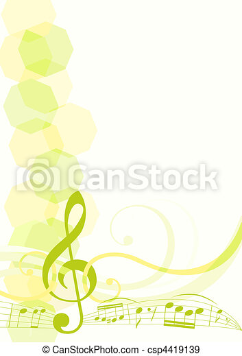 music theme background - csp4419139