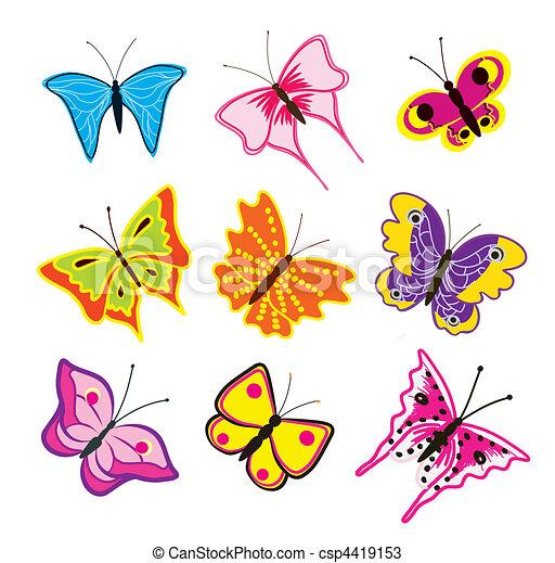 Fotos de mariposas caricaturas - Imagui