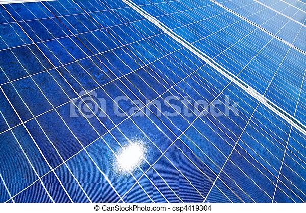 Alternative Solar Energy. Solar power plant. - csp4419304