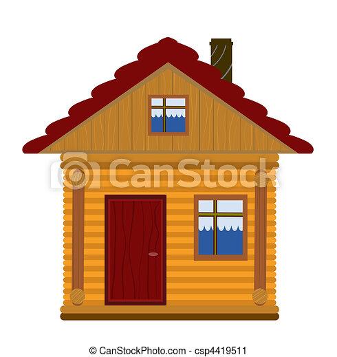 Casa De Madera Animada Casas Con Pergolas De Madera