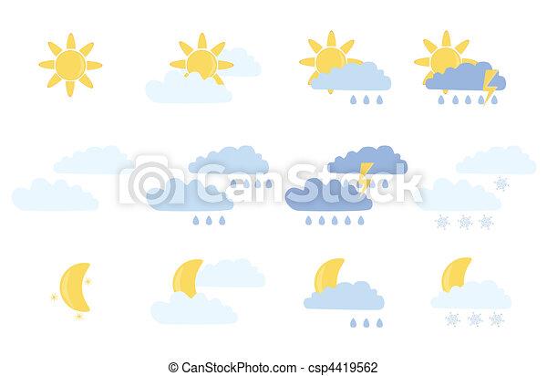 weather icons - csp4419562