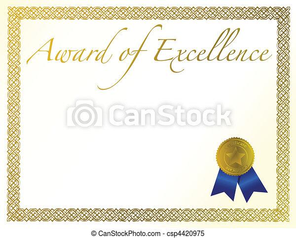 Award of Excellence - csp4420975