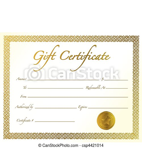 Gift Certificate - csp4421014