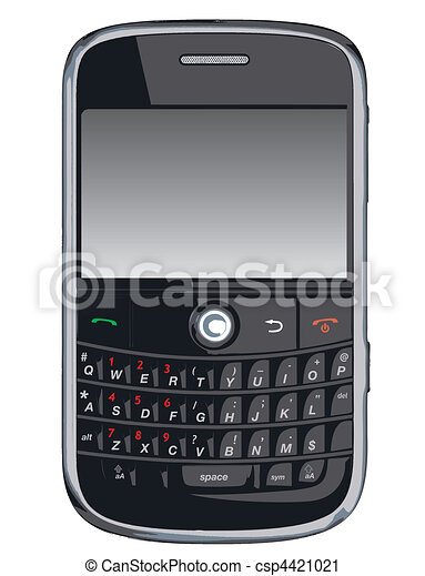 Vector cell phone / PDA / Blackberr - csp4421021