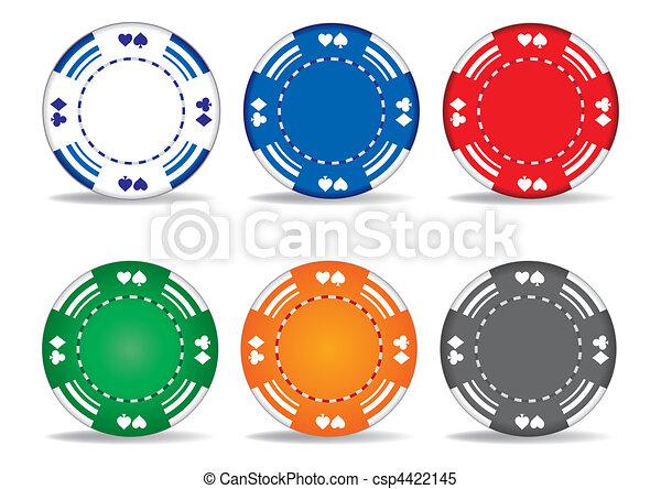 gambling chips - csp4422145