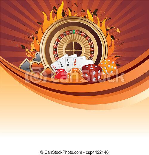 gambling background - csp4422146
