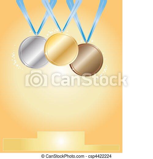 medal ceremony - csp4422224