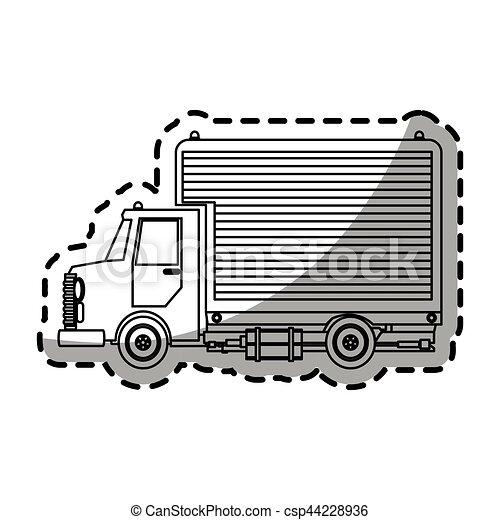 cargo truck - csp44228936