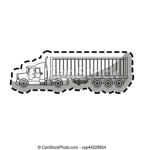 cargo truck - csp44228954