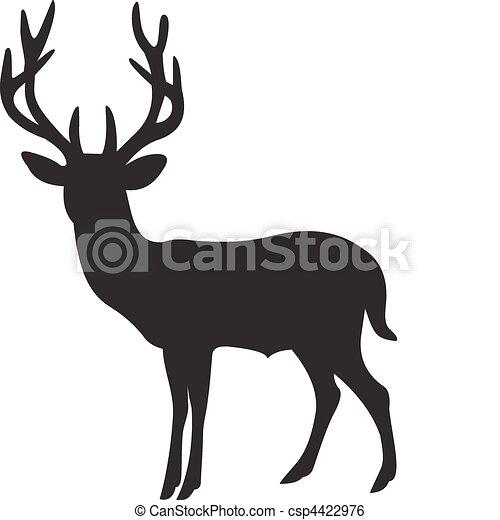 Deer vector - csp4422976