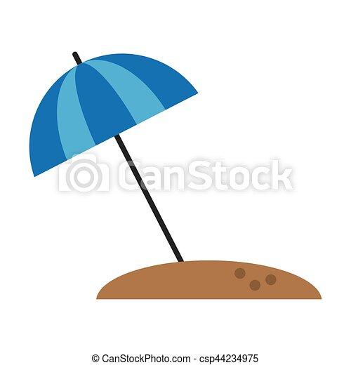 Sonnenschirm grafik  Vektoren Illustration von sandstrand, sonnenschirm, schirm, urlaub ...