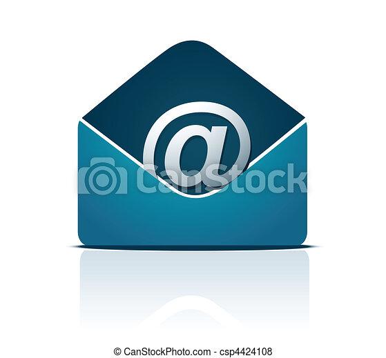 E-mail concept - csp4424108